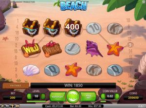 Beach slotmaskinen SS 5
