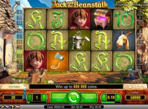 Jack and the beanstulk slotmaskinen SS 3