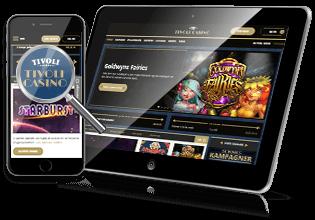 Tivoli Casino mobil & table spil