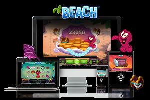 Beach spil på mobil og tablet