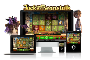Jack and the beanstulk spil på mobil og tablet
