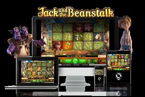 Jack and the beanstulk spil på mobil og tablet
