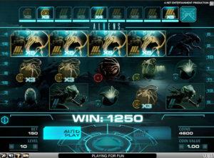Aliens slotmaskinen SS 3