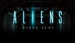 Aliens Spilleautomaten fra NetEnt - Her kan du spille