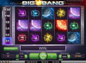 Big Bang slotmaskinen SS