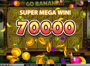 Go Bananas slotmaskinen SS 3