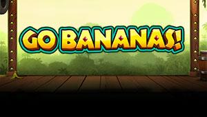 Her kan du spille GO Bananas slotmaskinen