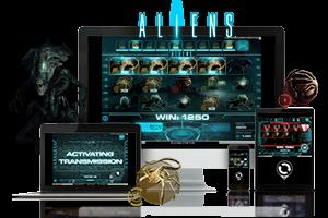Aliens spil på mobil og tablet