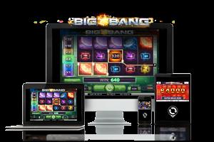 Big Bang spil på mobil og tablet