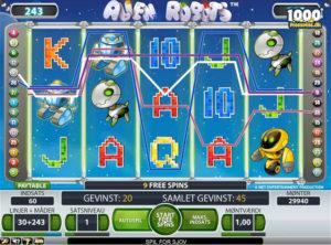 Alien Robots slotmaskinen SS-04