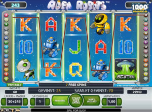 Alien Robots slotmaskinen SS-05