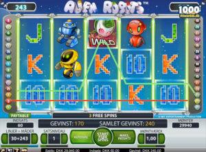 Alien Robots slotmaskinen SS-06