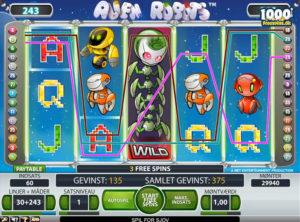 Alien Robots slotmaskinen SS-07