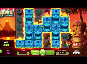 Aloha! Cluster Pays slotmaskinen SS-01