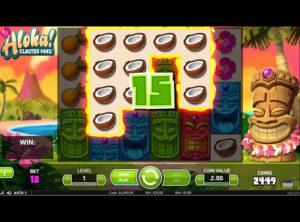 Aloha! Cluster Pays slotmaskinen SS-04