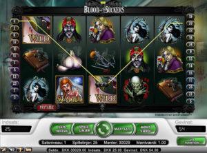 Blood Suckers slotmaskinen SS 1