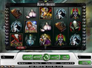 Blood Suckers slotmaskinen SS 2