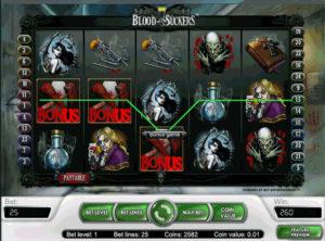 Blood Suckers slotmaskinen SS 3