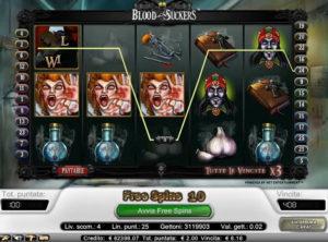 Blood Suckers slotmaskinen SS 5