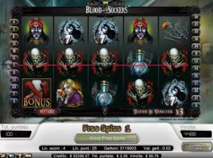 Blood Suckers slotmaskinen SS 7