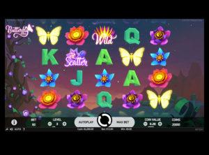 Butterfly Staxx slotmaskinen SS-01
