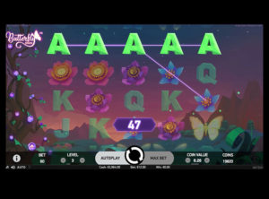Butterfly Staxx slotmaskinen SS-06