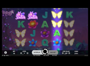 Butterfly Staxx slotmaskinen SS-07