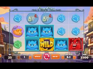 Copy Cats slotmaskinen SS-09