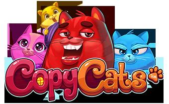 Copy Cats NetEnt game logo