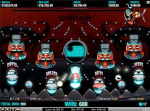 Cosmic Fortune slotmaskinen SS 2