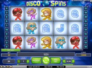 Disco Spins slotmaskinen SS