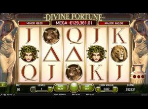 Divine Fortune slotmaskinen SS-01