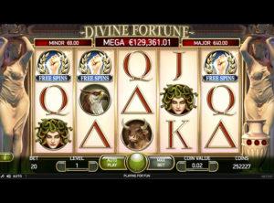 Divine Fortune slotmaskinen SS-05