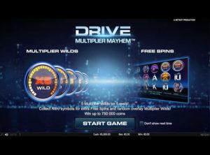 Drive Multiplier Mayhem slotmaskinen SS 5
