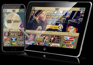 Spil på mobilen hos Drueck Glueck Casino