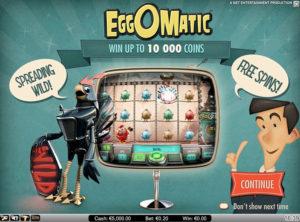 EggOMatic slotmaskinen SS-05