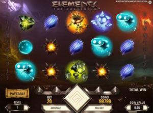 Elements slotmaskinen SS-01