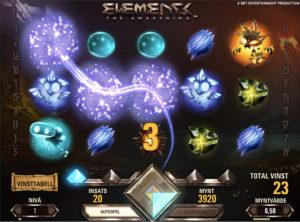 Elements slotmaskinen SS-03