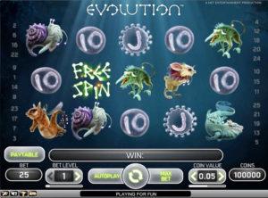 Evolution slotmaskinen SS-01