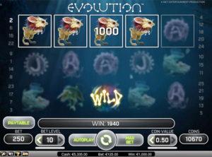 Evolution slotmaskinen SS-05