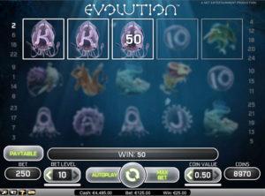 Evolution slotmaskinen SS-06