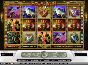 Excalibur slotmaskinen SS-04
