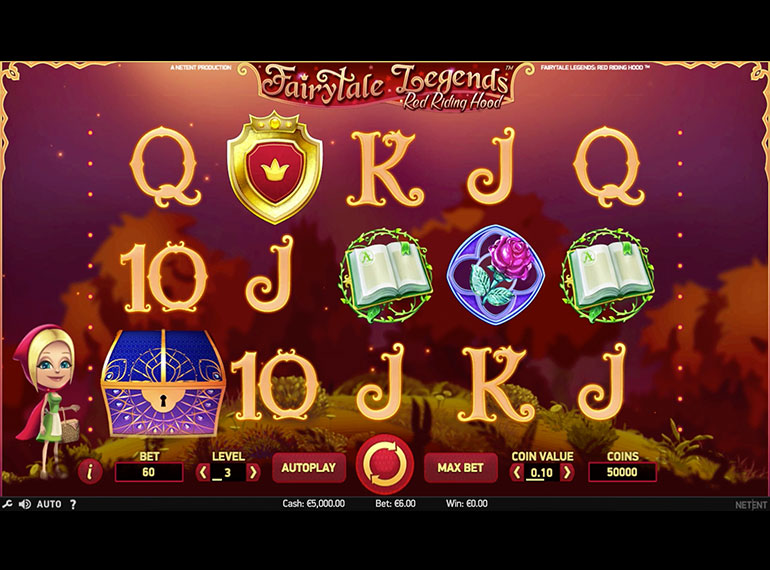 FairyTale Legends Red Riding Hood Slots - Spela gratis nu