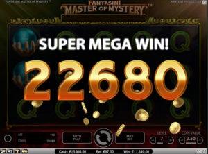Fantasini Master of Mystery slotmaskinen SS 1