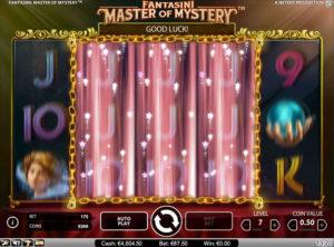 Fantasini Master of Mystery slotmaskinen SS 2