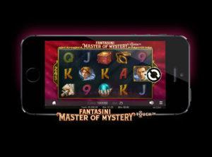 Fantasini Master of Mystery slotmaskinen SS 7