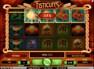 Fisticuffs slotmaskinen SS-01