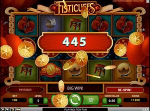 Fisticuffs slotmaskinen SS-03