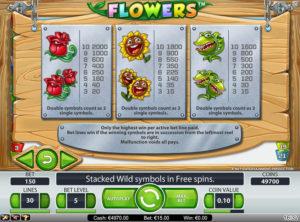 Flowers slotmaskinen SS-03