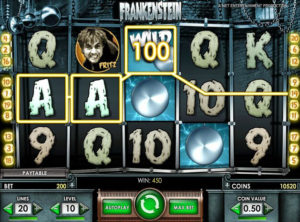 Frankenstein slotmaskinen SS-01